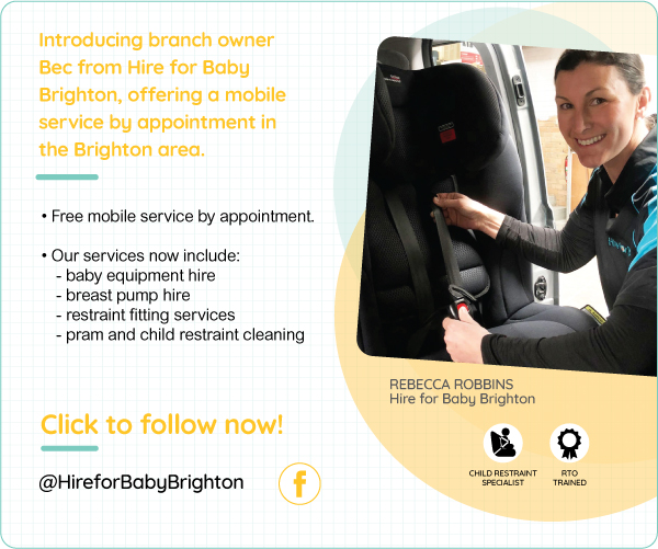 Brighton Vic Hire For Baby