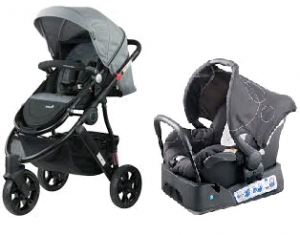 Steelcraft Agile Stroller With Steelcraft Capsule Hire