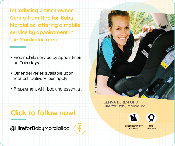 Mordialloc Vic Hire For Baby