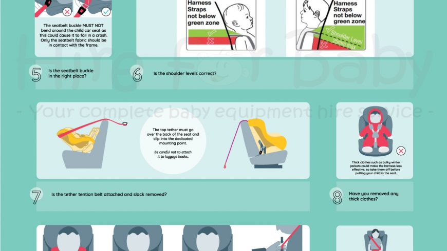 10 Quick Child Restraint Checks